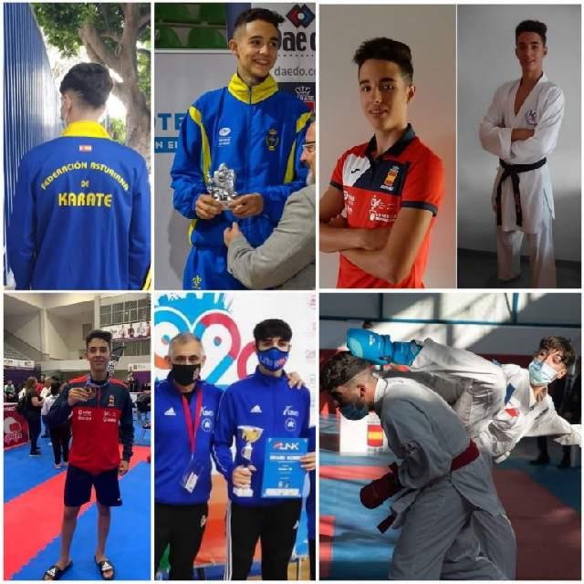 El karateka moscón Borja Gutiérrez Marqués representará a Asturias en el premio al Mejor Deportista Escolar
