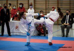 Cinco karatecas del Budokan, al Nacional