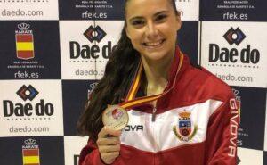 El Ayuntamiento de Noja felicita a Carlota Fernández por el Campeonato de España de Kárate
