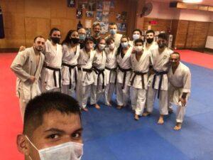 El karate volvió con un calendario cargado para todas las edades
