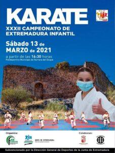Herrera del Duque acogió el Campeonato de Extremadura infantil