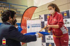 Lucía Sánchez se proclama campeona de España en para karate
