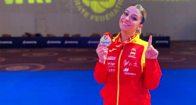 La extremeña Marta García se cuelga el oro con la Selección Española 0 (0)