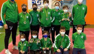 El Club de Karate Nintai de Águilas consigue 7 medallas en el Campeonato Regional de las categorías infantiles