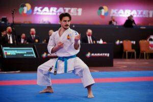 Damián Quintero se reafirma como líder internacional en la Karate Premier League