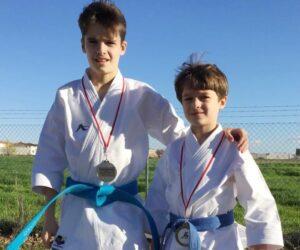 Tres solaneros lograron medalla en el Campeonato de CLM de Karate
