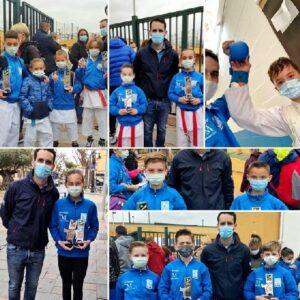 Con 14 metales, Olympic Karate Marbella consigue el récord de medallas del Campeonato Andaluz