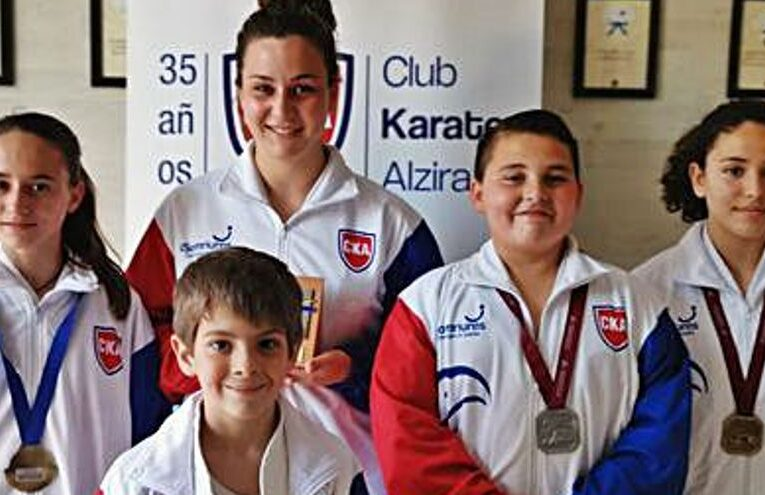 El Club de Karate de Alzira consigue tres campeonatos autonómicos en la cita de Cheste 0 (0)
