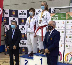 Ana Isabel Tagarro, campeona de la Copa de España en katas