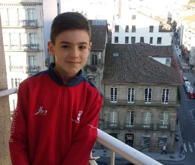 Ángel Macarro consigue el cuarto puesto en el Campeonato de España Infantil de kárate