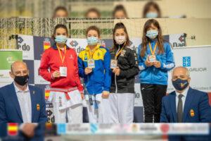 Candela Muñoz, bronce en el Campeonato de España de kárate