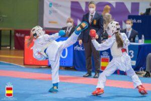 El karate cordobés deja buena impresión en el Campeonato de España