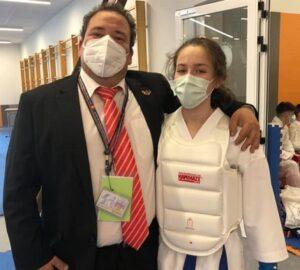 Oro para Cristina Rivas y plata para Isaac Molina en el Campeonato de España de Karate