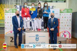 Daniela Bustamente logra el bronce en el Campeonato de España de Karate