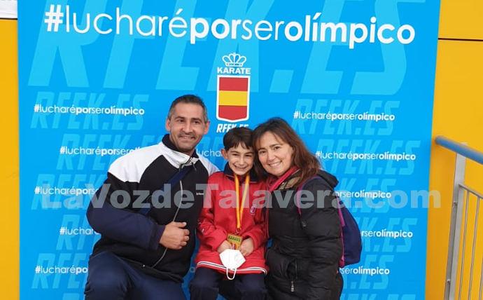El alevín Héctor Martín Rodríguez, de Talavera, se proclama campeón de España 2021 de Karate 0 (0)