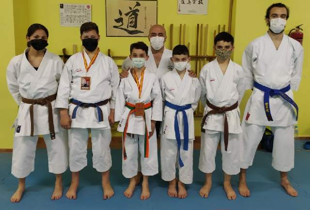 Gran actuación del Club de Karate de La Solana en la Copa de España de Kata