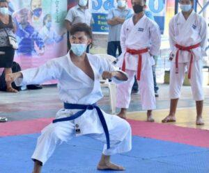 La Federación Salvadoreña de Karate celebró la edición 45 del torneo Puerto de La Libertas
