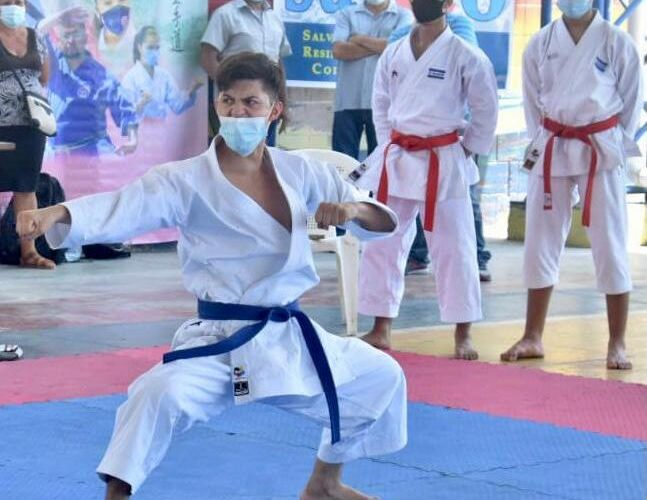 La Federación Salvadoreña de Karate celebró la edición 45 del torneo Puerto de La Libertas 0 (0)