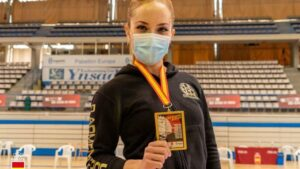 Nuria Escudero Solis Campeona de la copa de España senior de estilos