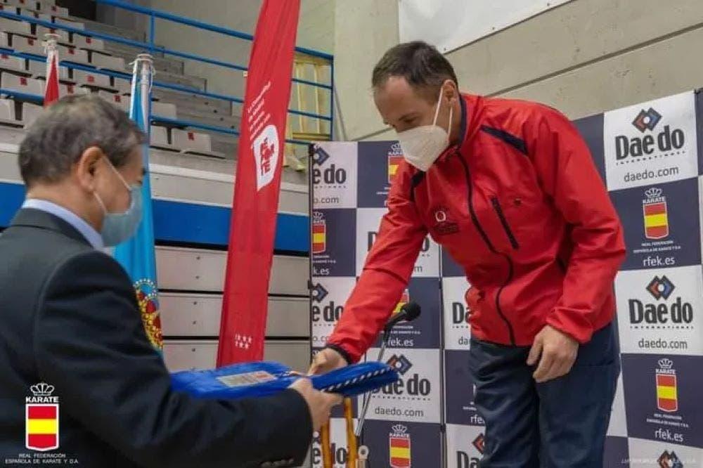 Óscar Botrán se hace con la medalla de plata en la Copa de España de Estilos de Kárate