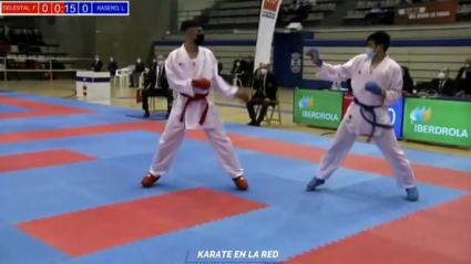 Luis Rasero, subcampeón de España de kumite