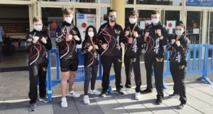 Seis karatekas del club Saioa compitieron en la Copa de España disputada en Leganés