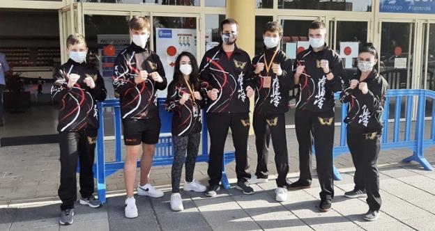 Seis karatekas del club Saioa compitieron en la Copa de España disputada en Leganés 0 (0)