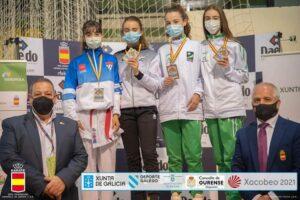 El Club Shotoyama consigue tres medallas en el Campeonato de España de Karate Infantil y Juvenil celebrado este pasado fin de semana