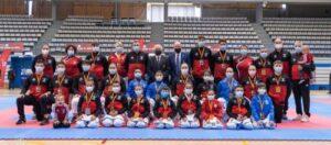Lluvia de medallas a los deportistas locales en el I Campeonato Nacional por estilos de Karate