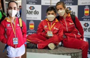 Bronces para Ángela Rodríguez y Óscar Arribas en el nacional infantil y juvenil
