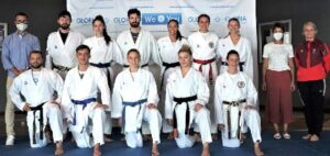 La selección austriaca de Karate prepara en Mogán el Campeonato de Europa