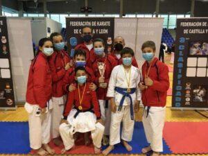 Fin de semana de éxitos para los karatecas del Club Budokán Medina