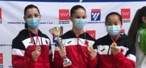 Carla Riestra se clasifica para el Nacional por equipos de kárate