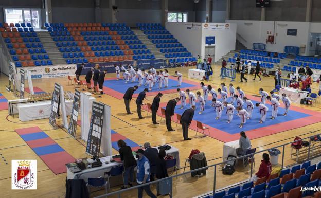 León suma 14 medallas en el Campeonato de Castilla y León de Veteranos y clubes de Karate 0 (0)