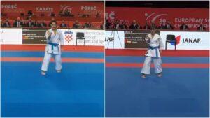 Damián Quintero y Sandra Sánchez se meten en la final del Europeo