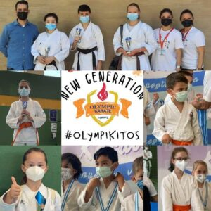 Olympic Karate Marbella estrena su nueva generación de karatekas con seis medallas en el campeonato provincial