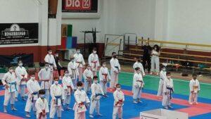 El Karate llena un fin de semana más Villanueva de la Vera