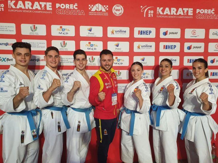 Raquel Roy pasa a la final del Europeo de Karate