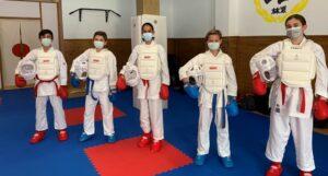 La cantera del Club de Karate PoliArrecife competirá en la Liga Nacional