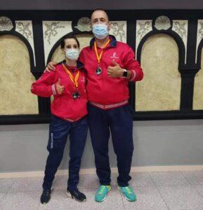 Medallas para Nuria Díaz y Enrique Ruiz Arenas