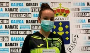 La valdeorresa Lucía Herrero, al Mallorca Karate Clinic