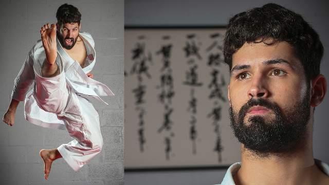 Así es como el cubano Ariel Torres pasó de niño karateca en Hialeah a atleta olímpico en Tokio