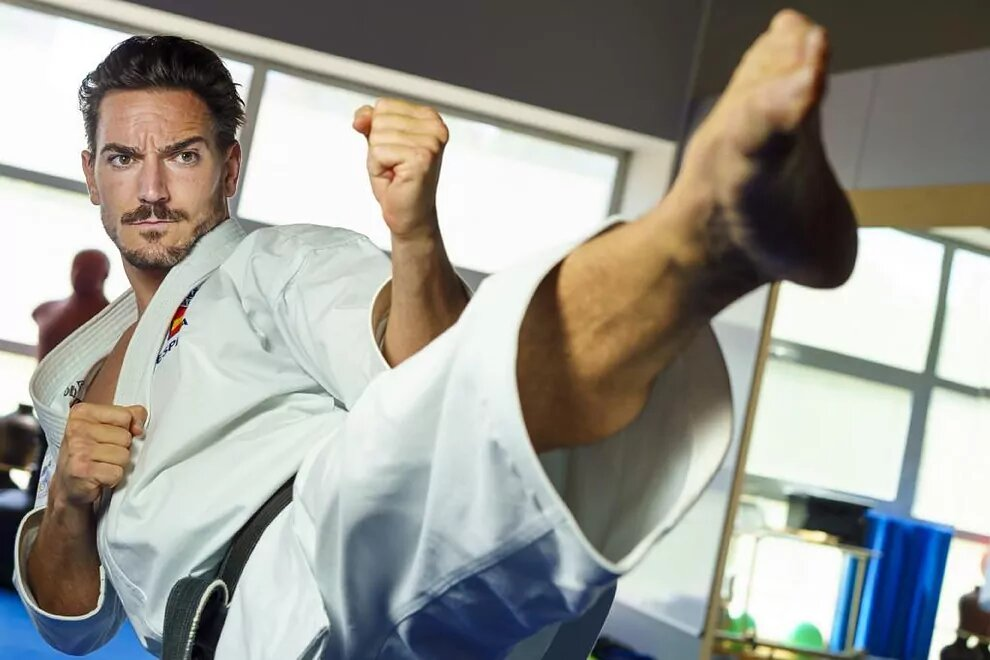 """Damián Quintero, el karateca-ingeniero al que no le gusta pelear: """"Pongo sentimiento en el tatami"""""""