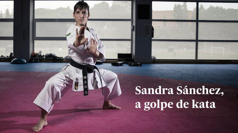 Sandra Sánchez, la karateca que fue marginada por estar al lado de su madre y que ha vuelto para luchar por el oro olímpico