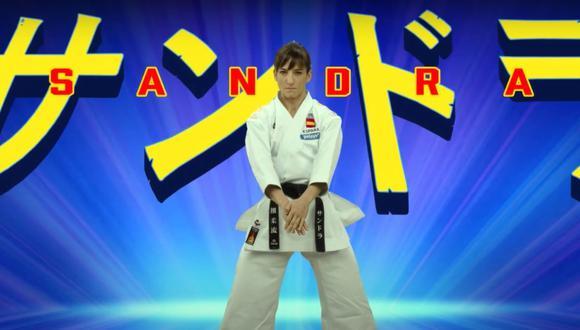 Sandra Sánchez, la karateca española que ha protagonizado su propio anime antes de viajar a Tokio 2020