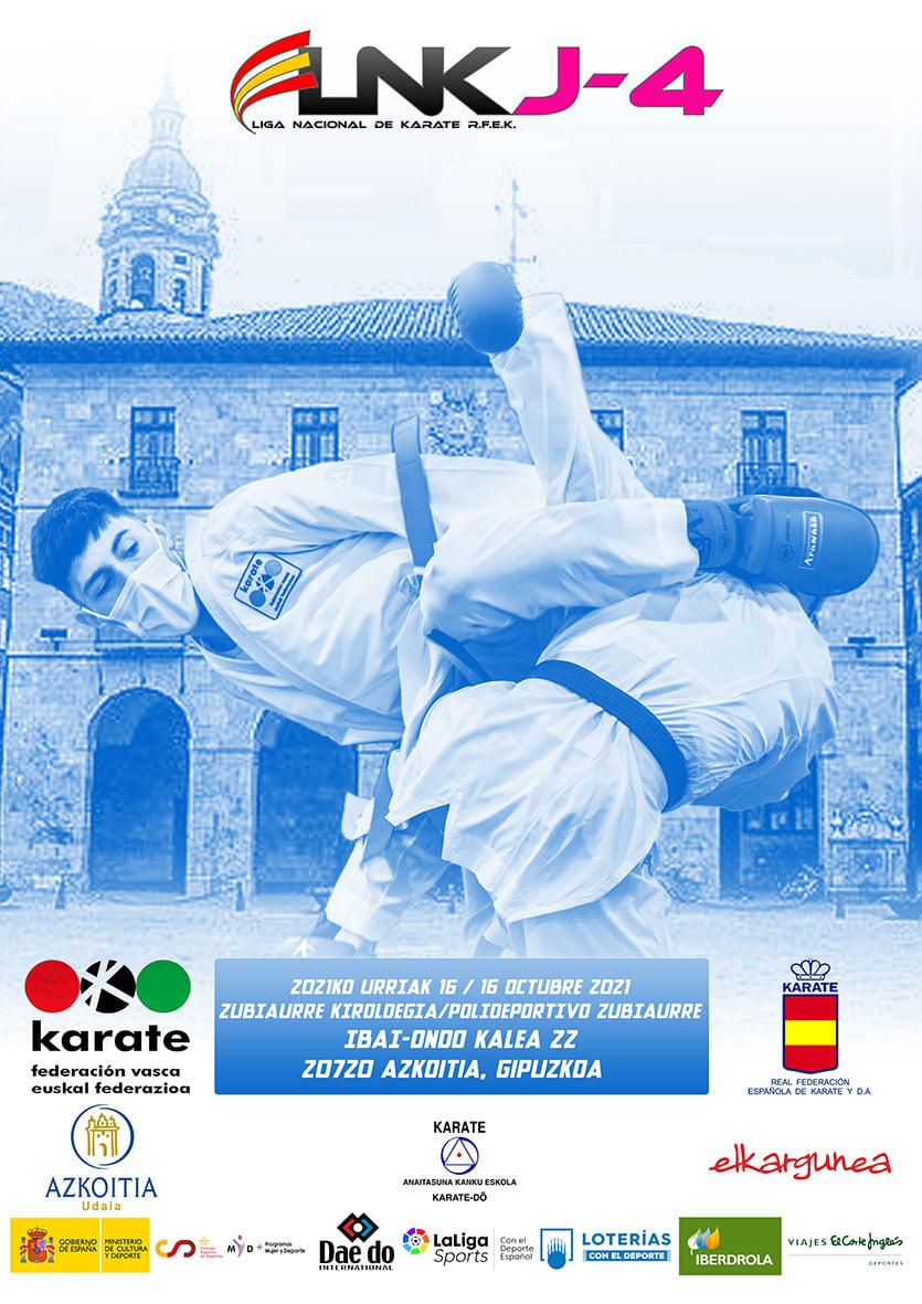 Azkoitia, sede de una de las cuatro jornadas de la Liga Estatal de Karate