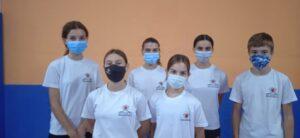 Doce karatecas del Budokán participan en las concentraciones de la Federación de Castilla y León