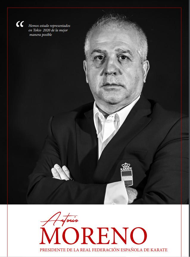 Antonio Moreno, PRESIDENTE DE LA REAL FEDERACIÓN ESPAÑOLA DE KARATE