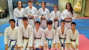 Cuatro medallas para el Club Dakentai en el Campeonato de Andalucía
