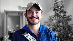 Jorge Merino gana oro en el Panamericano de Karate
